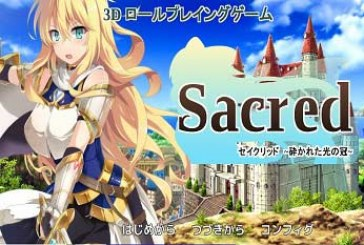 Sacred ~Crown of Crushed Light~ [RPG][Japanese]