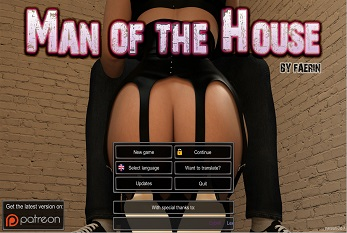 Man of the House - New Version 0.7.1b [3DCG][English]